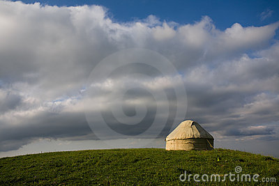 Yurt on the hill