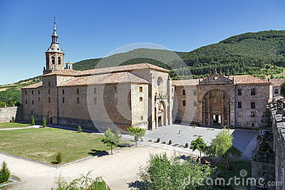 Yuso Monastery in San Millan de La Cogolla, La Rioja