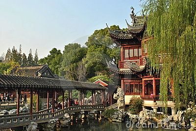 Yuyuan Garden Editorial Photo