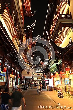 Free Yuyuan Garden At Night.Shanghai.China Stock Image - 14934551