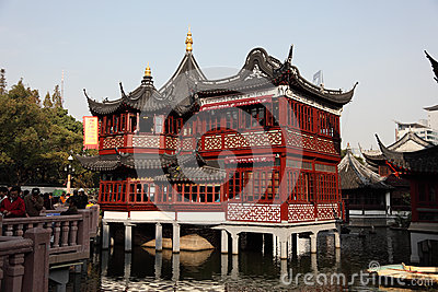 Yuyuan Garden in Shanghai Editorial Stock Image