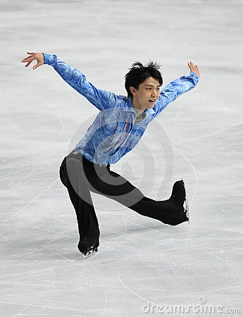 Yuzuru HANYU (JPN) Editorial Stock Image