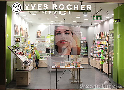 Yves Rocher Editorial Image