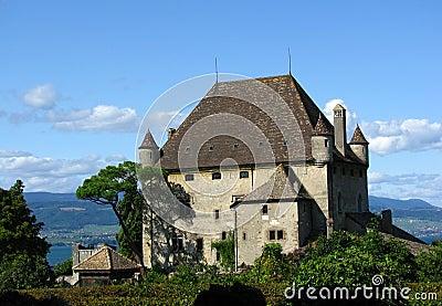 城堡yvoire