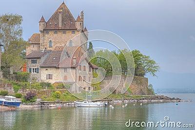 Yvoire castle
