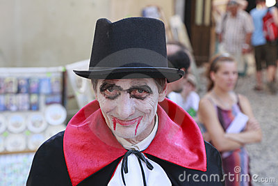 Zählimpuls Dracula Redaktionelles Foto