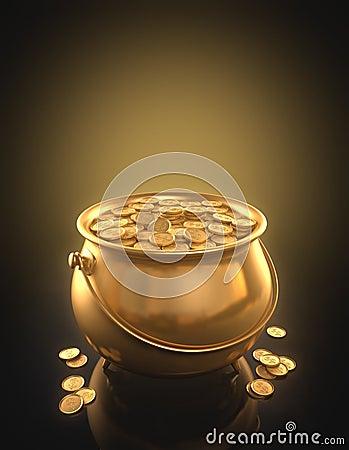 Złociste monety