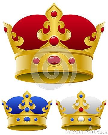 Złota Królewska Korona