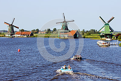Zaanse Schans - Holland Editorial Photo