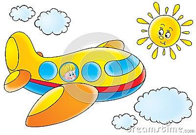 Zabawne samolot