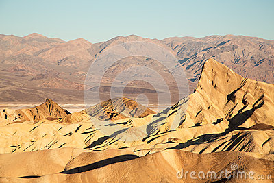 Zabriske Point at dawn