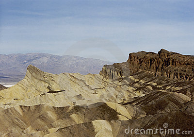 Zabriskie Point Death Valley California