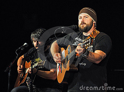 Zac Brown, Zac Brown Band Editorial Stock Image