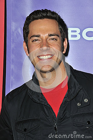 Zachary Levi Editorial Stock Photo