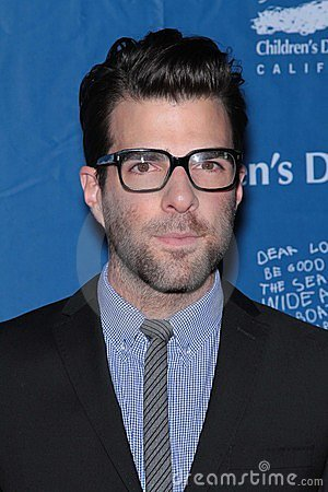 Zachary Quinto Editorial Stock Photo