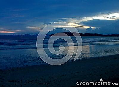 Zachód słońca mistyczki blue ii