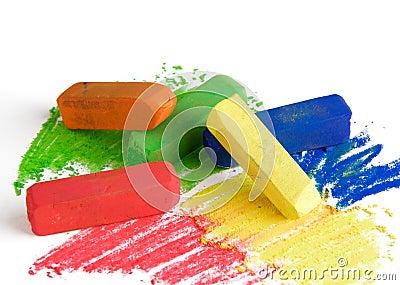 Zachte pastelkleuren