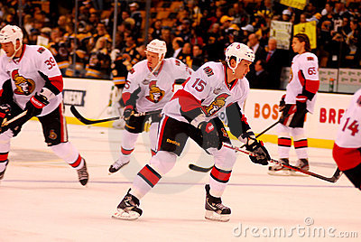 Zack Smith Ottawa Senators Editorial Image