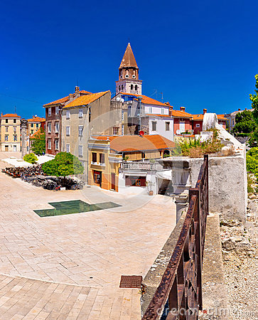 Free Zadar Five Wells Square And Historic Architecture Panoramic View Stock Photo - 96800970