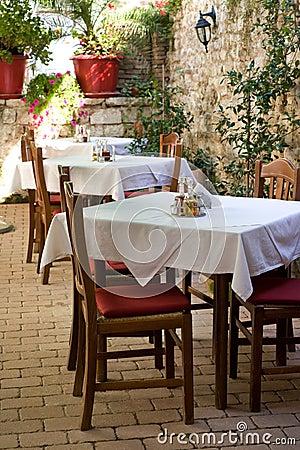 Free Zadar Restaurant Stock Image - 10132341