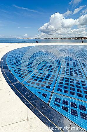 Zadar. Solar Panel