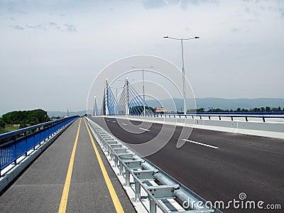 Zagreb: empty highway
