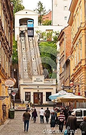 Free Zagreb Funicular Stock Photo - 19378320