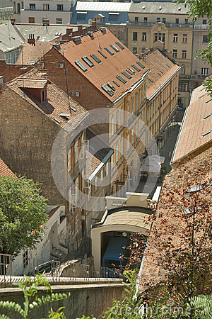 Zagreb funicular Editorial Photography