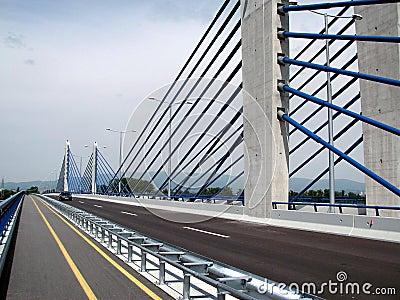 Zagreb: new highway bridge