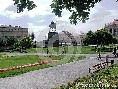 Zagreb: park Zrinjevac