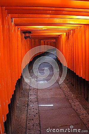 Zakazuje Japan torii Kyoto