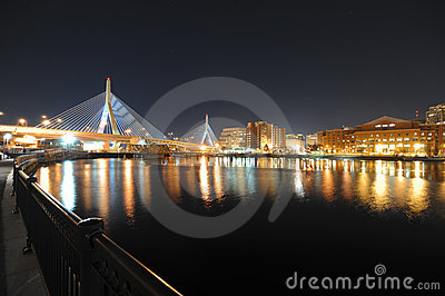 Zakim Bridge in boston massachusetts