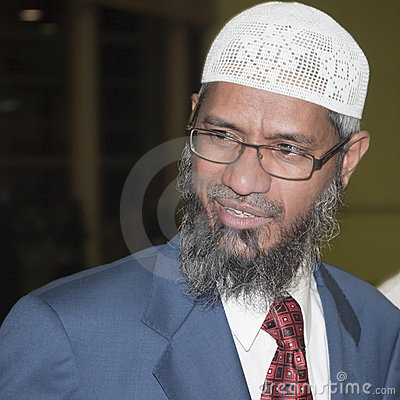 Zakir Abdul Karim Naik Royalty Free Stock Photo - Image: 13961425