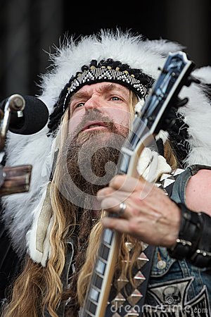 Zakk Wylde Editorial Stock Image