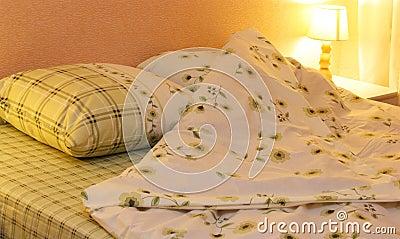 Łóżko odziewa