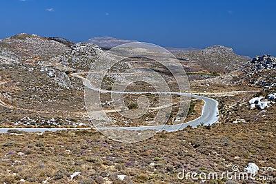 Zakros mountain at Crete, Greece