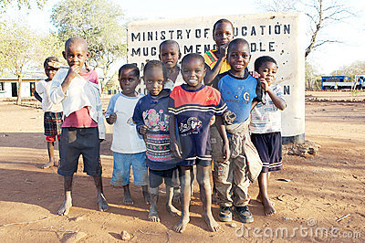 Zambia education Editorial Stock Photo