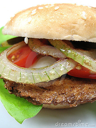 Zamknięty hamburger