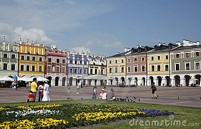 Zamosc Editorial Image