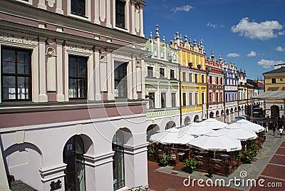 Zamosc Unesco city Poland Editorial Photo