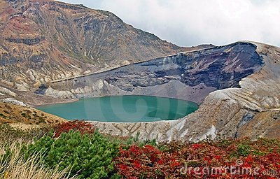 Zao Okama Crater Lake