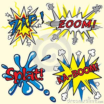 Zap, Zoom, Ka-Boom, Splat!