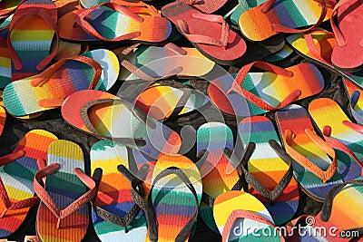 Zapatos coloridos del slip-on
