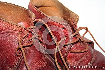 Zapatos de bebé de la vendimia