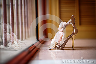Zapatos de la boda