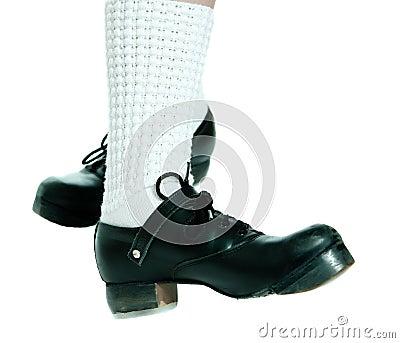 Zapatos de la danza