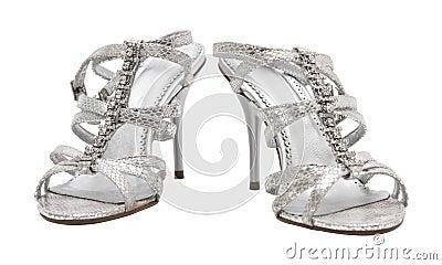 REGALOS DE REYES PARA LOS FORER@S... Zapatos-de-plata-elegantes-de-la-mujer-2720836