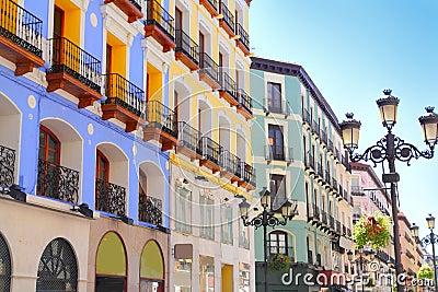 Zaragoza city Spain Alfonso I street