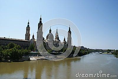 Zaragoza view (Spain)