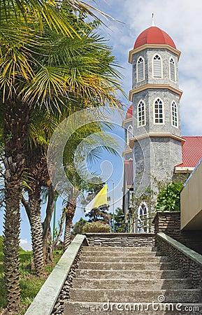 Free Zarcero Costa Rica Church Royalty Free Stock Photo - 28195175